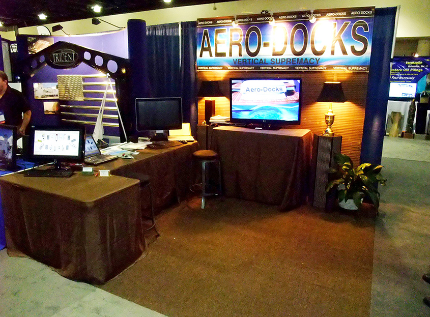 Aero-Docks at the IMBC 2011 Trade Show