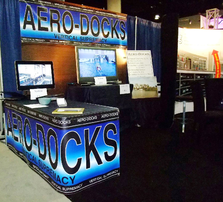 Aero-Docks at the IMBC 2010 Trade Show